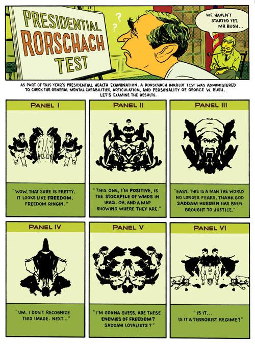 Presidential Rorschach Test