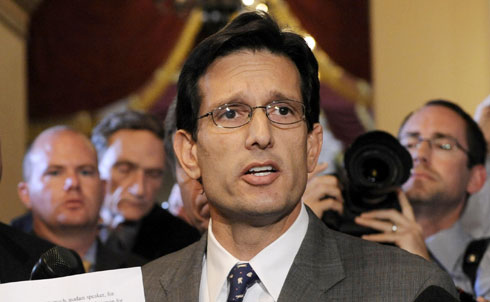 """At 39, Eric Cantor is the youngest member of the House Republican leadership, making him a bonafide """"young gun."""" The House representative for Virginia's 7th district since 2001, Cantor will soon assume the Majority Leader position.  As Ari Berman writes in the latest issue of The Nation, Cantor rose through the GOP ranks """"through a mix of fundraising prowess, media savvy and party devotion."""" According to Berman, Cantor's on a fast track to becoming Speaker.  At the top of Cantor's small government agenda is the repeal of """"Obamacare,"""" along with other public services. He has asked the public to vote on which government programs they'd like to cut, and has pledged to """"put Uncle Sam on a diet.""""  Unlike other young guns on this list, Cantor became popular without the support of the Tea Party. In fact, Cantor has spoken out against the creation of a Tea Party caucus in the House and supported Texas Representative Jeb Hensarling over Tea Party favorite Michelle Bachmann for chair of the House Republican Congress.  But Berman predicts that Cantor will """"avoid making too many waves"""" in the House, and will instead continue to build up his reputation by opposing the Democrats' efforts to provide basic services to American citizens.  Credit:APImages"""