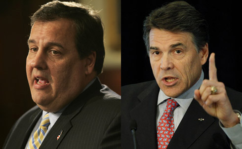 New Jersey Governor Chris Christie has already said he won't run, but that hasn't stopped speculation to the contrary. Texas Governor Rick Perry says he's not interested either, but the GOP is getting desperate for an electable candidate.  Research for this slide show provided by Kevin Gosztola and Sara Jerving  Credit:APImages