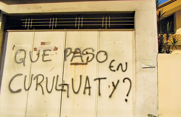 Graffiti in Asuncion (Natalia Viana)