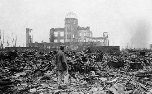 "Since the detonation of the first atomic bombs over the Japanese cities of Hiroshima and Nagasaki in August of 1945, The Nation has been appropriately fearful of the singular devastation that nuclear weapons can wreak upon the earth and equally skeptical of the promises of nuclear energy offers on the homefront. In 1945, editor Freda Kirchwey, while allowing that the bombs did indeed end World War II, argued that if the assumptions made in deciding to bomb Japan were repeated in the future, ""the chance of saving civilization—and perhaps the world itself—from destruction is a remote one."" More than fifty years later, Jonathan Schell, the premier nuclear writer of his generation, echoed many of Kirchwey's contentions in a seminal opus, ""The Gift of Time,"" making the case for nuclear abolition, a position that the magazine holds proudly to this day.    In commemoration of the victims of the atomic bombings of the Japanese cities of Hiroshima and Nagasaki sixty-five years ago this month we've assembled a series of related articles and photos from The Nation's archives.   Credit: AP Images"