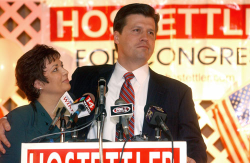 Republican Rep. John Hostettler announced he would run for Bayh's U.S. Senate seat last December, to nobody's surprise. With Bayh no longer running, and Hostettler possibly challenging his former rival Brad Ellsworth, Hostettler could create a campaign without the same mistakes, including weak fundraising, that cost him the job the previous time around. Or could he? Some Republicans have said his politics follow too outside their comfort zone, as in 2002 he was one of a dozen Republican to vote against the Iraq War resolution and he is a critic of U.S. military presence abroad.  AP Images