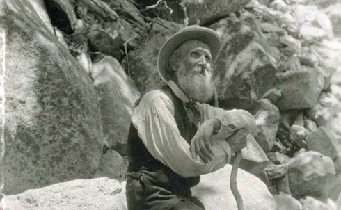 "Muir was the ""patron saint"" of the environmental movement, the founder of the  Sierra Club and a major force in the creation of America's National  Parks system.