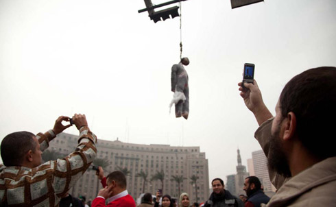 Capturing Protests with Mobile Phones