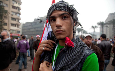 Boy with Kuffiyeh