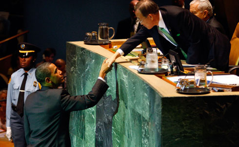 Our State Department asked our diplomats at the United Nations to spy on others, including the secretary general, even aiming to retrieve credit card numbers.  Credit: Reuters Pictures