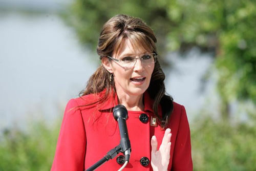 On July 3, 2009, in a  rambling and not altogether rational speech, Sarah Palin announces that she plans to resign as governor of Alaska with about a year and half left to go in her first term. Citing dead fish, the role of a point guard and a desire to effect change from outside of government, something tells us we aren't seeing the last of Palin.[AP Images]