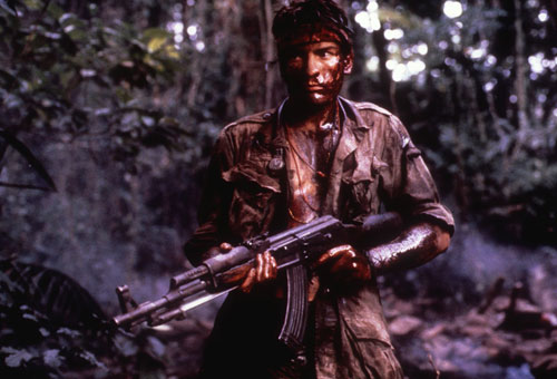 Platoon (1986) Ex-soldier Oliver Stone sets out to make the definitive Vietnam movie, drawing from many of his own experiences. The result is a stirring and disturbing experience that wins over audiences and critics.[Everett Collection]