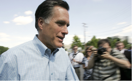 "The ""moderate"" Mitt Romney opposes immigration reform and wants to build a fence along the entire US border with Mexico. And a DREAM Act-style pathway to citizenship for students attending college in the United States or serving in the military? If elected president, Romney has vowed to veto it.