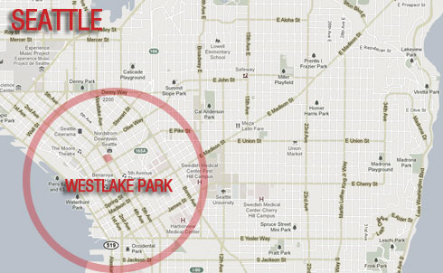 Location: Westlake Park  Occupied since: October 1  Map courtesy of Google Maps