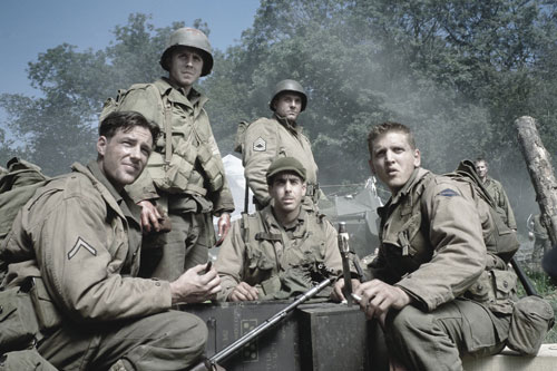 "Saving Private Ryan (1998) This definitive World War II film features the most realistic depiction of the D-Day invasion ever captured on film. The success of the film inspires a resurgence of WW II buffs and renewed appreciation for the ""greatest generation.""[Everett Collection]"