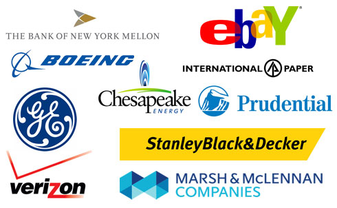 eBay, Bank of New York Mellon, Boeing, Chesapeake Energy, GE, Verizon and more