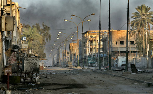 The Pentagon basically lied to the public in downplaying sectarian violence in Iraq. Our military handed over many detainees they knew would be tortured to the Iraqis. US authorities failed to investigate hundreds of reports of torture and abuse by Iraqi police and military.  Credit: AP Images