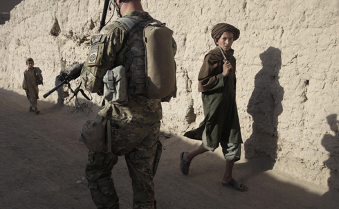 """Thanks to our heroic troops and civilians, fewer Afghans are under the control of the insurgency. There will be tough fighting ahead, and the Afghan government will need to deliver better governance. But we are strengthening the capacity of the Afghan people and building an enduring partnership with them. This year, we will work with nearly 50 countries to begin a transition to an Afghan lead. And this July, we will begin to bring our troops home.""