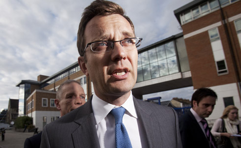 Andy Coulson, who edited News of the World after Brooks's departure in 2003, was dogged by accusations that he also knew about his journalists' hacking practices, accusations he has denied.  Yet despite his rocky tenure at the paper, Coulson was appointed Prime Minister David Cameron's Director of Communications last year—and then resigned this January amid the growing scandal.  Credit: Reuters Pictures