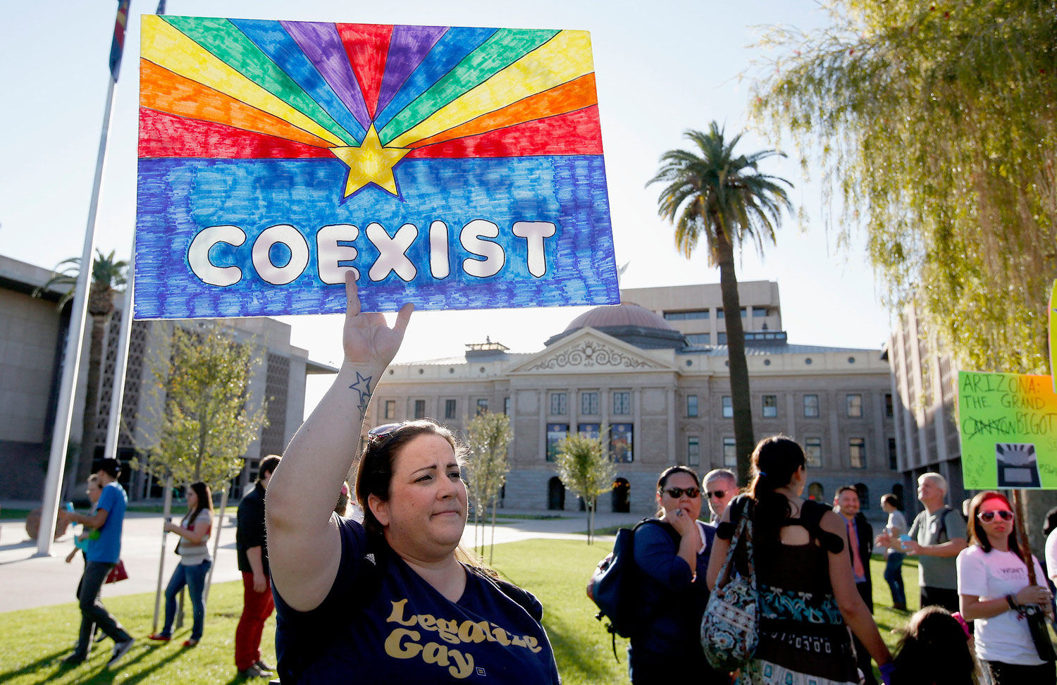 Arizona-gay-rights-protest