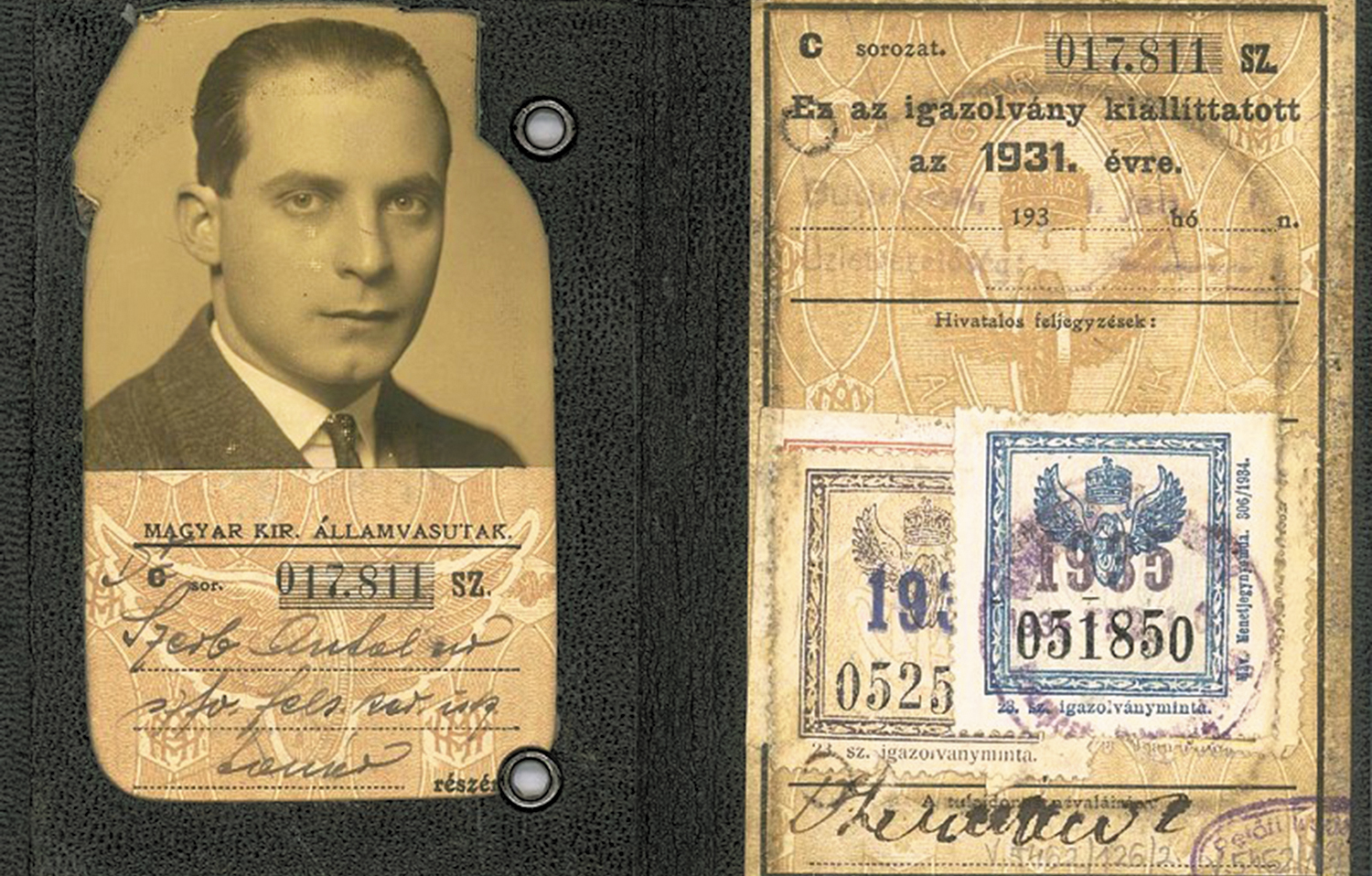 Antal-Szerb's-passport-1931