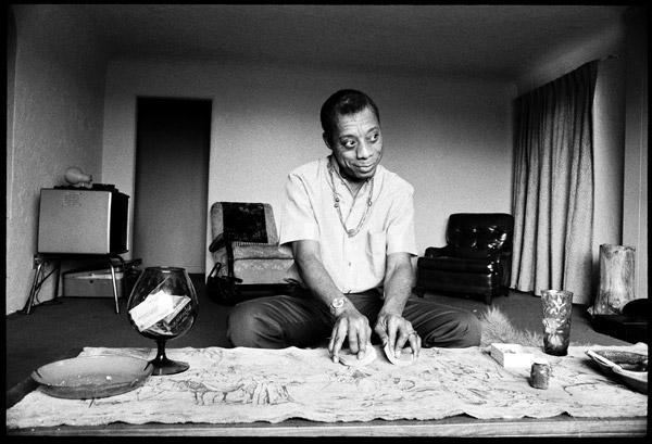 James Baldwin in Los Angeles, 1969