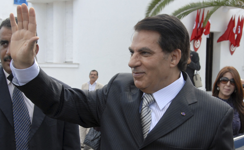 The man whose nepotism and repression started it all, Tunisia's President Zine El Abidine Ben Ali was forced to flee into exile in Saudi Arabia on January 14 after a near-month of street protests. Ben Ali was a key US ally during his 23 years in power, despite the fact that his government did not allow for freedom of the press and routinely rigged elections. Interpol now has an arrest warrant out for Ben Ali and his wife.  Credit: AP Images
