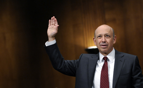 Goldman Sachs, the financial firm led by Lloyd Blankfein (seen above at a Senate investigation into investment banks) that can boast former Secretary of the Treasury Henry Paulson among its alumni, should also be up front about the 29 tax-dodging accounts the firm held the year before it received $10 billion in TARP funds from the government. Maybe the feds should have done a little more research into Goldman Sachs before doling out the cash: just last year, the firm was charged with exacerbating the sub-prime mortgage crisis by producing risky investment options.