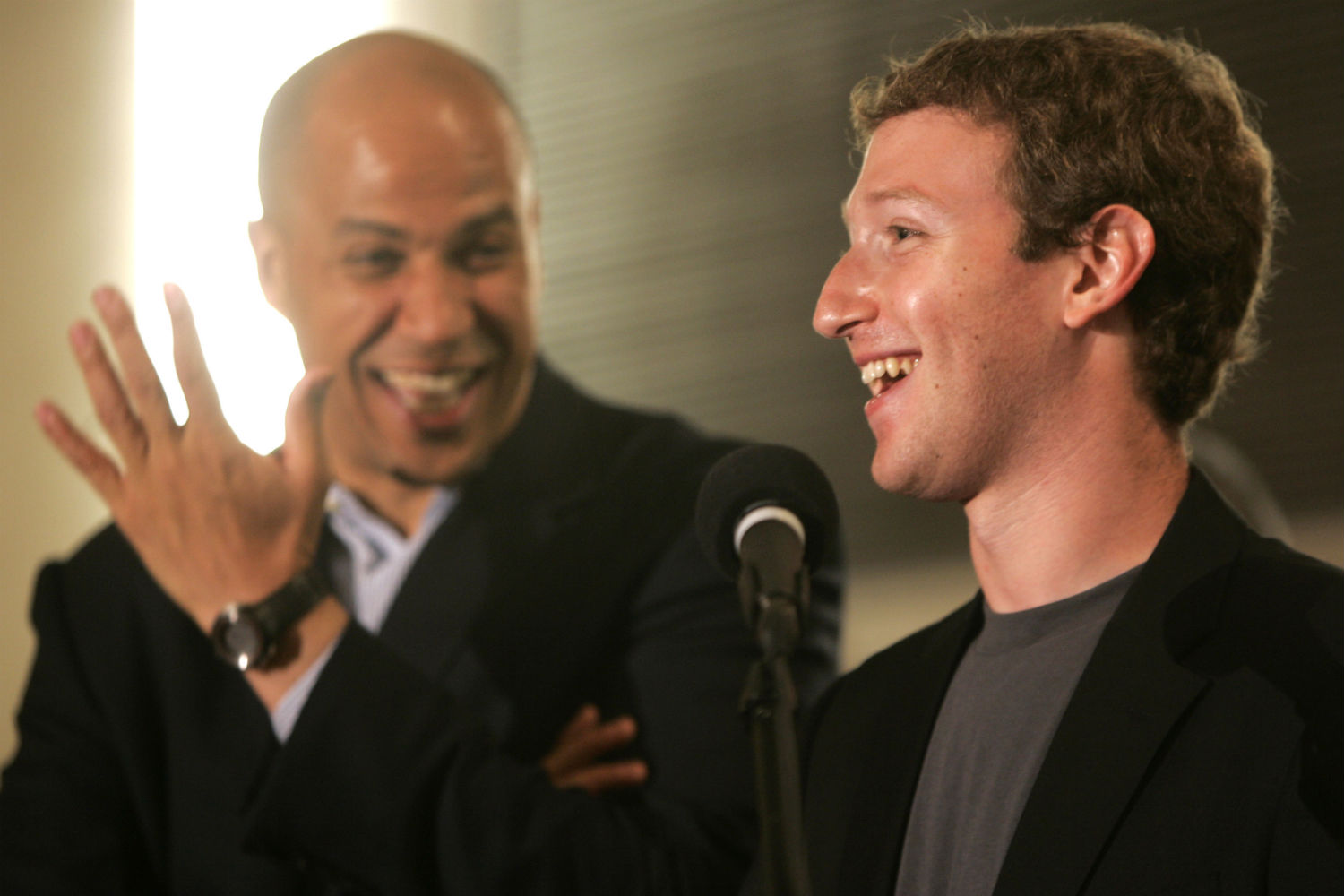 Booker-and-Zuckerberg