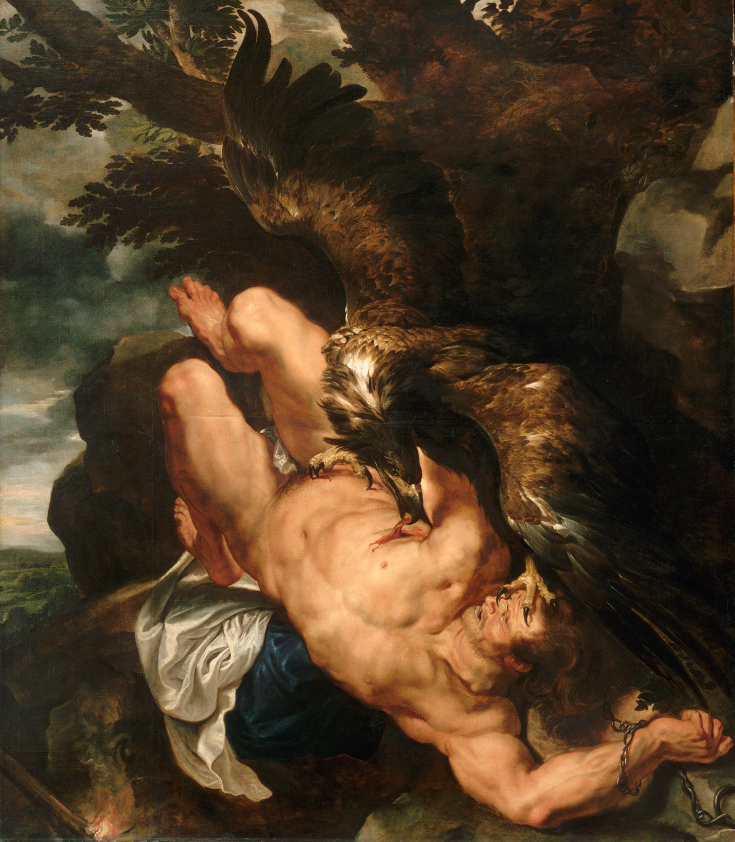 Prometheus-Bound-by-Peter-Paul-Rubens-c.-1618