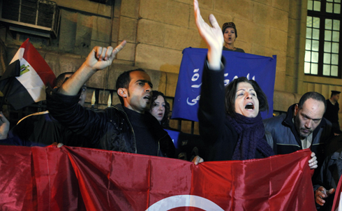 Will Tunisia's example ripple throughout the Arab world as frustration towards other repressive leaders, such as Egypt's Hosni Mubarak, continues to grow?