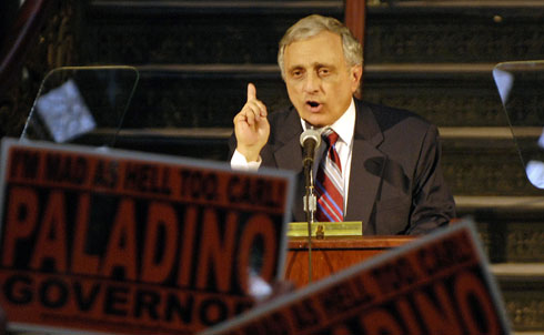 "Carl Paladino, currently vying to become the next governor of New York, has introduced a clever proposal to deal with poverty in the empire state: put welfare recipients in state prisons. In an interview with the Associated Press, Paladino described how he would convert state prisons into housing centers and outlined what he expects welfare recepients to do while living in the prisons: ""There, they would do work for the state—military service, in some cases park service, in other cases public works service."" Adding insult to injury Paladino also said that the prison guards-turned-counselors would ""teach [welfare recipients] personal hygiene…the personal things they don't get when they come from dysfunctional homes."" 
