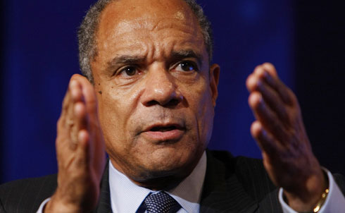 American Express's Kenneth Chenault made $16.8 million in total compensation last year; IPS reports that the company has fired 4,000 people over the past two years, since receiving nearly $3.4 billion in federal bailout money. They paid back their bailout funds in June 2009.