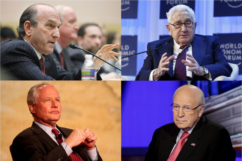 Abrams-Kissinger-Kristol-Cheney