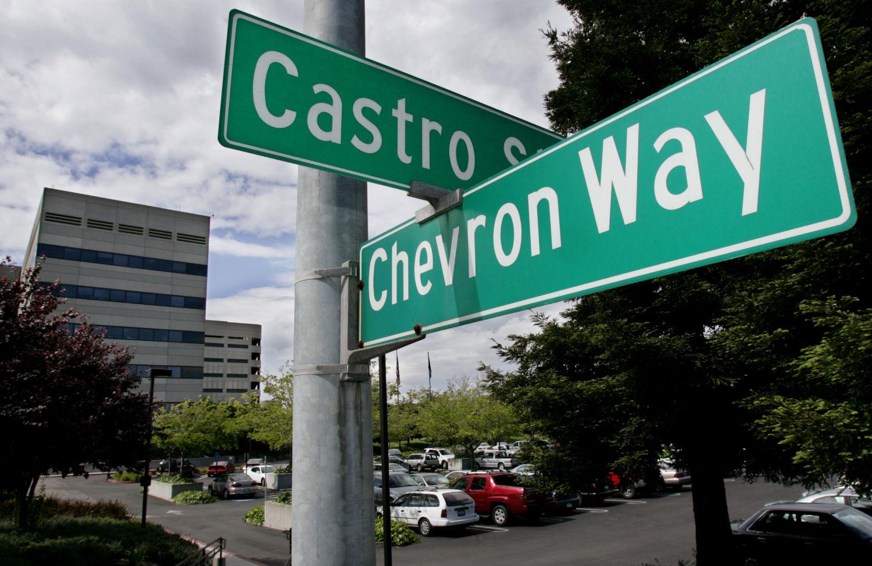 Chevron-sign