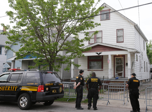 Cleveland house where women were abducted