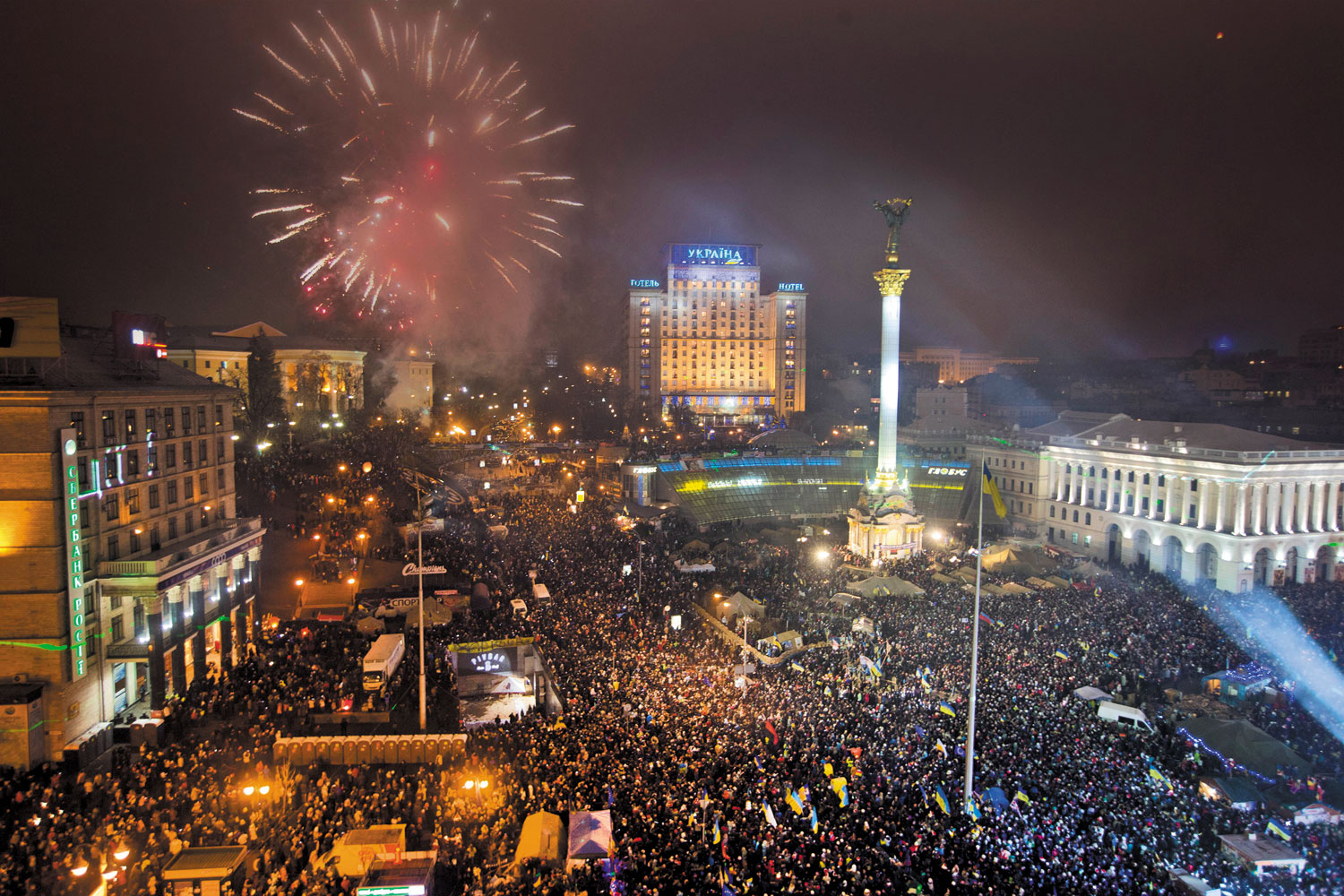 Pro-EU-protesters-celebrate-the-New-Year-in-Kiev's-Maidan-January-1-2014