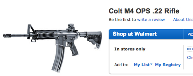 Five Assault Weapons You Can Pick up at Walmart [PHOTOS
