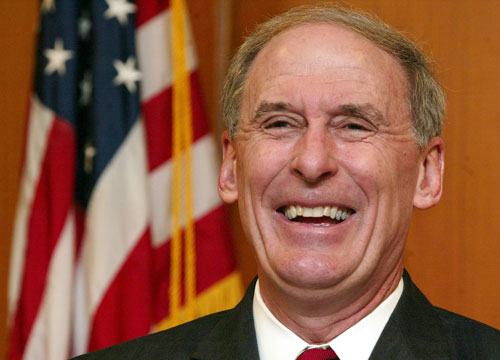 Former Indiana U.S. Senator Dan Coats is a likely front runner for a Republican takeover of Sen. Evan Bayh's seat. Weeks before Bayh announced his planned retirement, Coats announced he would challenge Bayh for the seat he once held. Coats left office in 1998 and later became a lobbyist in Virginia. In 2001, President George W. Bush selected Coats as U.S. ambassador to Germany. In 1988, he was appointed to fill the Senate vacancy caused by the election of J. Danforth Quayle as Vice President.AP Images
