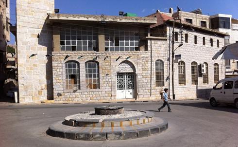 Sahet al Jisr, the main for demonstrations in Zabadani at the start of the revol