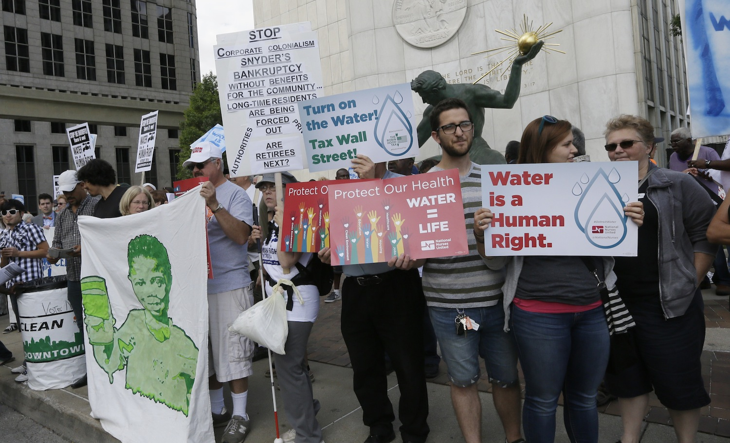 Detroit-Water-Protest