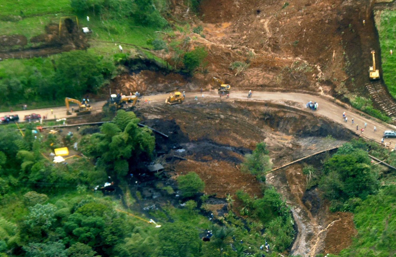 Petroecuador, oil spill