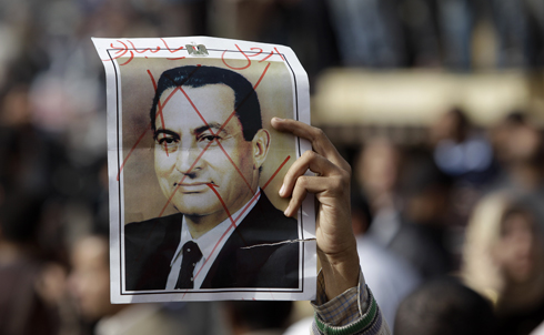 """After more than two weeks of massive protests against his government, Egypt's President Hosni Mubarak finally relinquished his grip on power on February 11, a move unthinkable just months before. Another staunch US ally, Mubarak ruled his country for the past 30 years with more than a little help from his repressive police force—not to mention over $60 billion of American aid.  Check out Robert Dreyfuss's slide show """"Who's Behind Egypt's Revolution"""" for more on the groups and individuals whose efforts led to Mubarak's fall.  Credit: AP Images"""