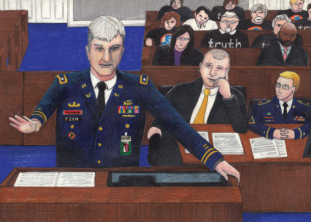 Closing arguments in the Bradley Manning case.