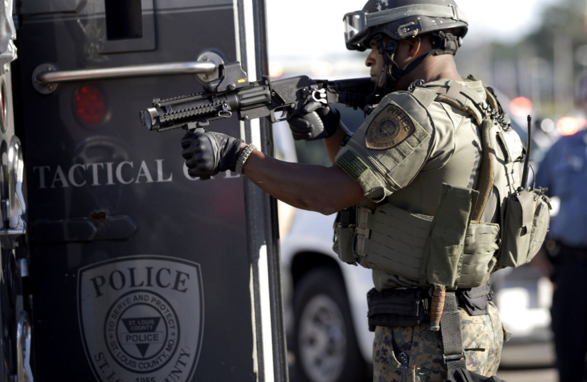 A Former Marine Explains All the Weapons of War Being Used by Police