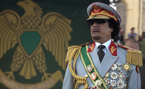 "Libya's Colonel Muammar Gaddafi, the longest-ruling current leader of any non-monarchy (clocking in at 41 years), may also be the region's most colorful dictator, with an all-female ""Amazonian Guard"" security detail and an endless wardrobe of hats, sunglasses and elaborate military uniforms for every occasion.