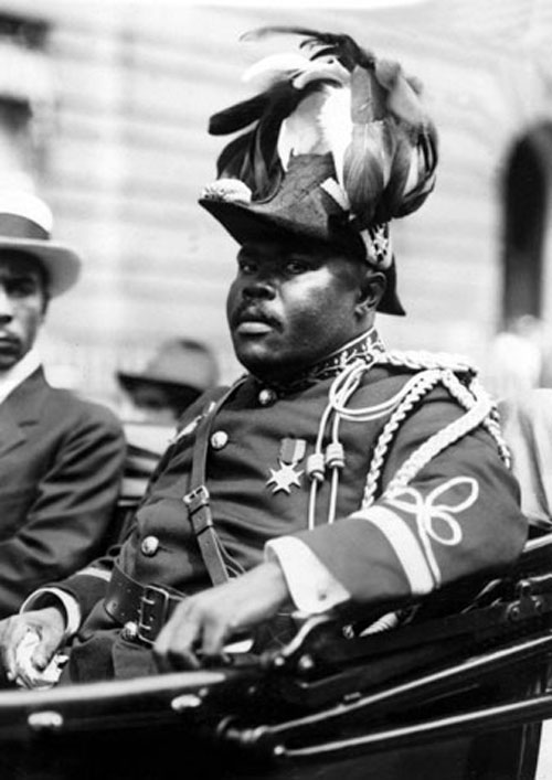 In 1921, the well-known journalist William Pickens spent six months reporting on a new movement led by the charismatic black leader Marcus Garvey to repatriate African-Americans to a new Republic of Africa.AP Images