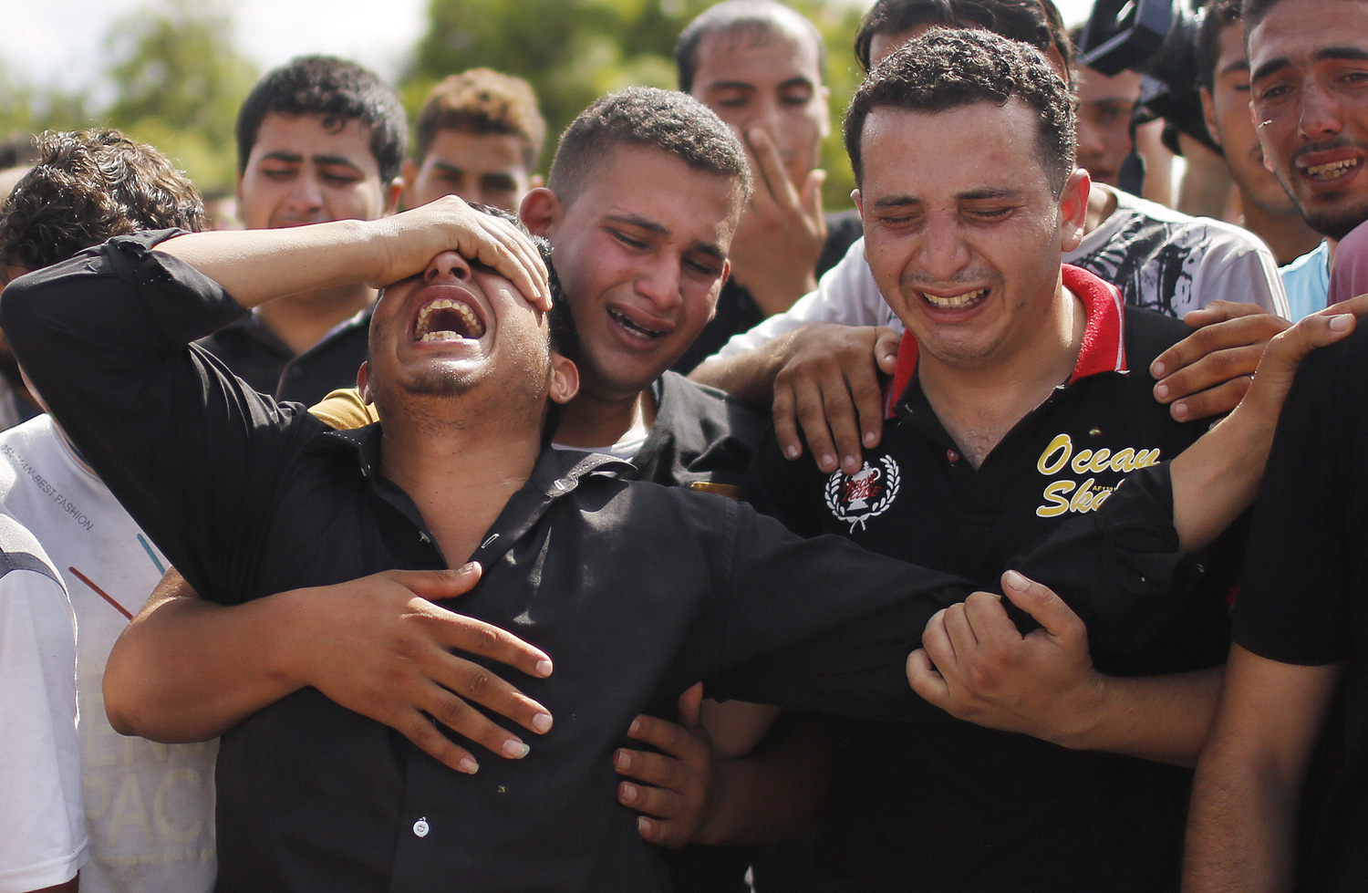 Eight-Members-of-One-Family-Killed-in-Their-Home-as-Israel's-Attack-on-Gaza-Continues