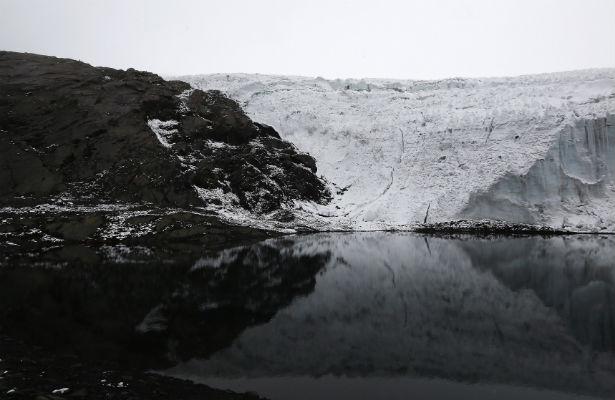 Glacier-melting