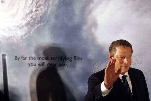 """When Al Gore was awarded his Nobel Peace Prize in October of 2007, The Nation hoped he would use the prize to catalyze bold action. He had become, according to the Nobel committee, """"probably the single individual who has done the most to create greater worldwide understanding of the measures that need to be adopted"""" to confront the climate crisis. However, The Nation was quick to remind readers of the corrupt political system that derailed Gore from becoming that same individual while in office. Gore admitted the award was """"just the beginning,"""" and The Nation responded, """"Let's hope so."""""""