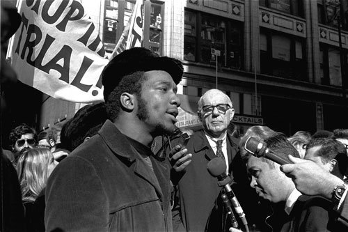 As the 1960s grew darker and more violent, the rise of the Black Panthers terrified elements of White America and the government's efforts to disrupt and sabotage the group crossed over into questionable Constitutional territory -- most notably the killing of the young leader Fred Hampton in Chicago. In The Nation L.F. Palmer, Jr,  explained that the government's campaign to get Hampton began long before it finally succeeded in killing him.AP Images