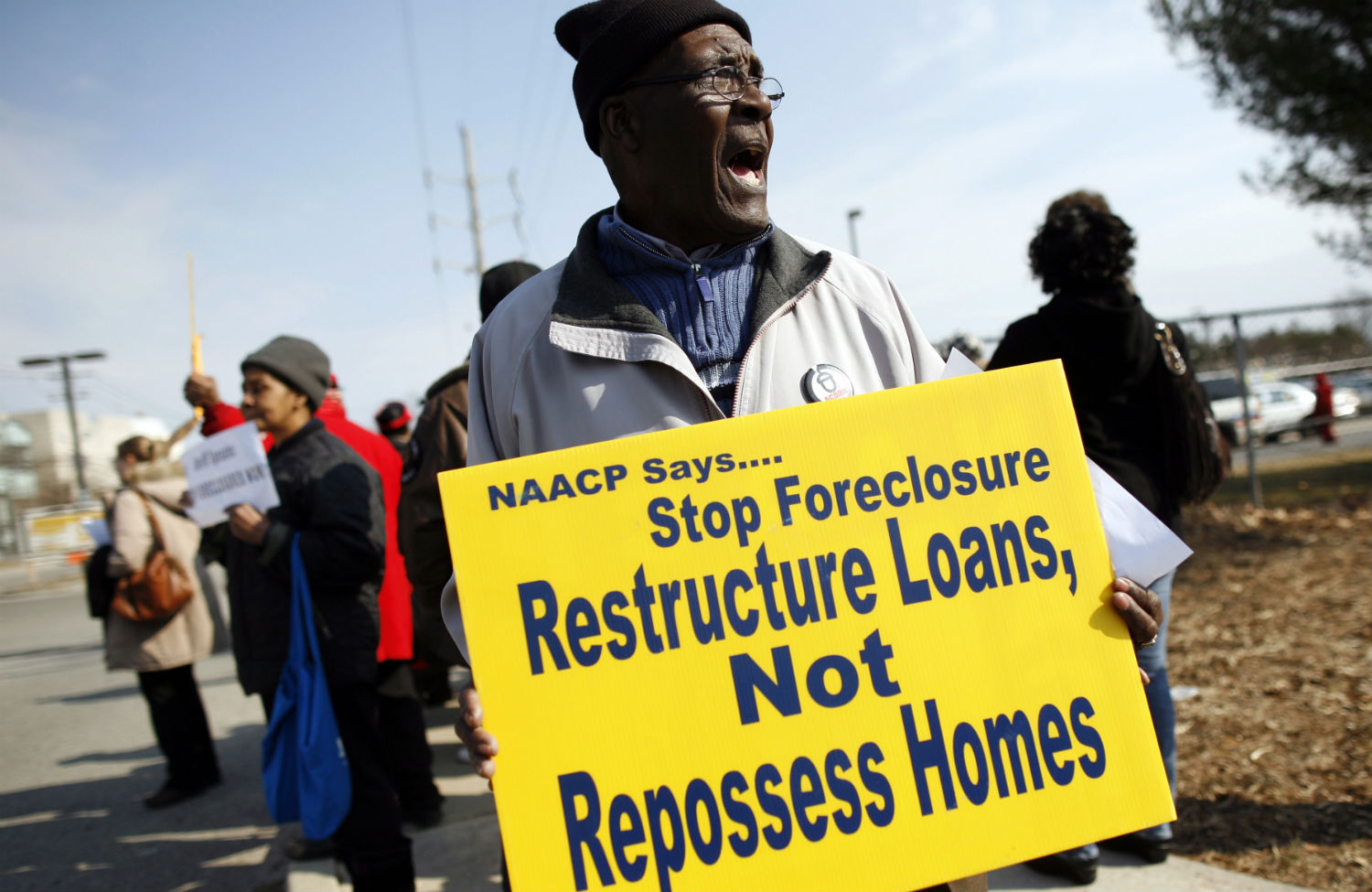 Foreclosure-protest