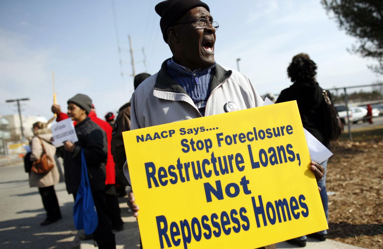 Foreclosure-protest