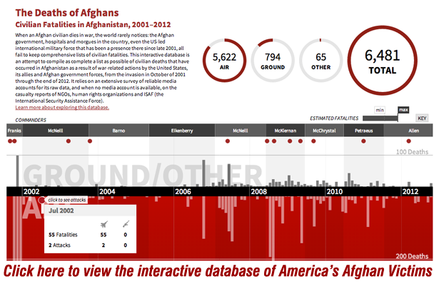 Interactive Database: America's Afghan Victims